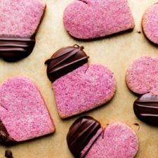 Raspberry Sugar Cookies